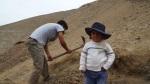 Diggers little boy
